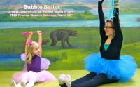 Bubble Ballet to begin this Spring! Tres Wonderful!