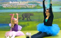 Bubble Ballet begins this Spring Session!