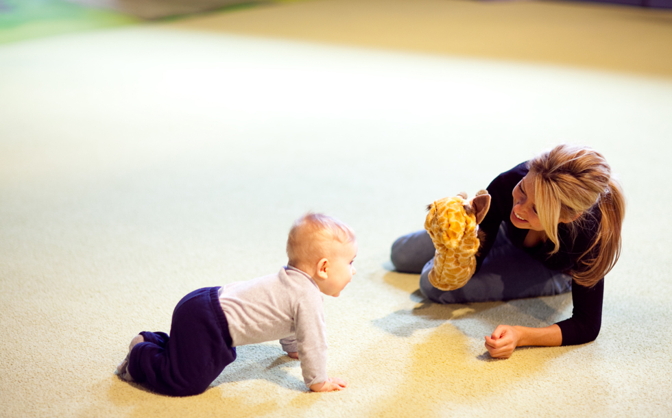Mom & Tot Class: The Language Benefit for Infants and Young Toddlers