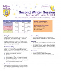 Lake Forest Second Winter Session