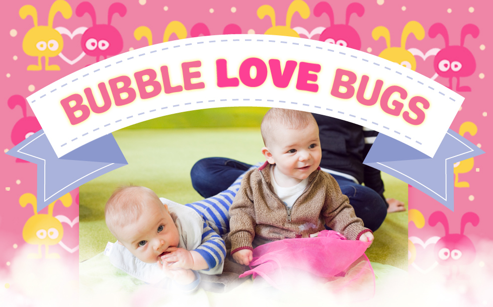 Bubble Love Bugs Photo Contest