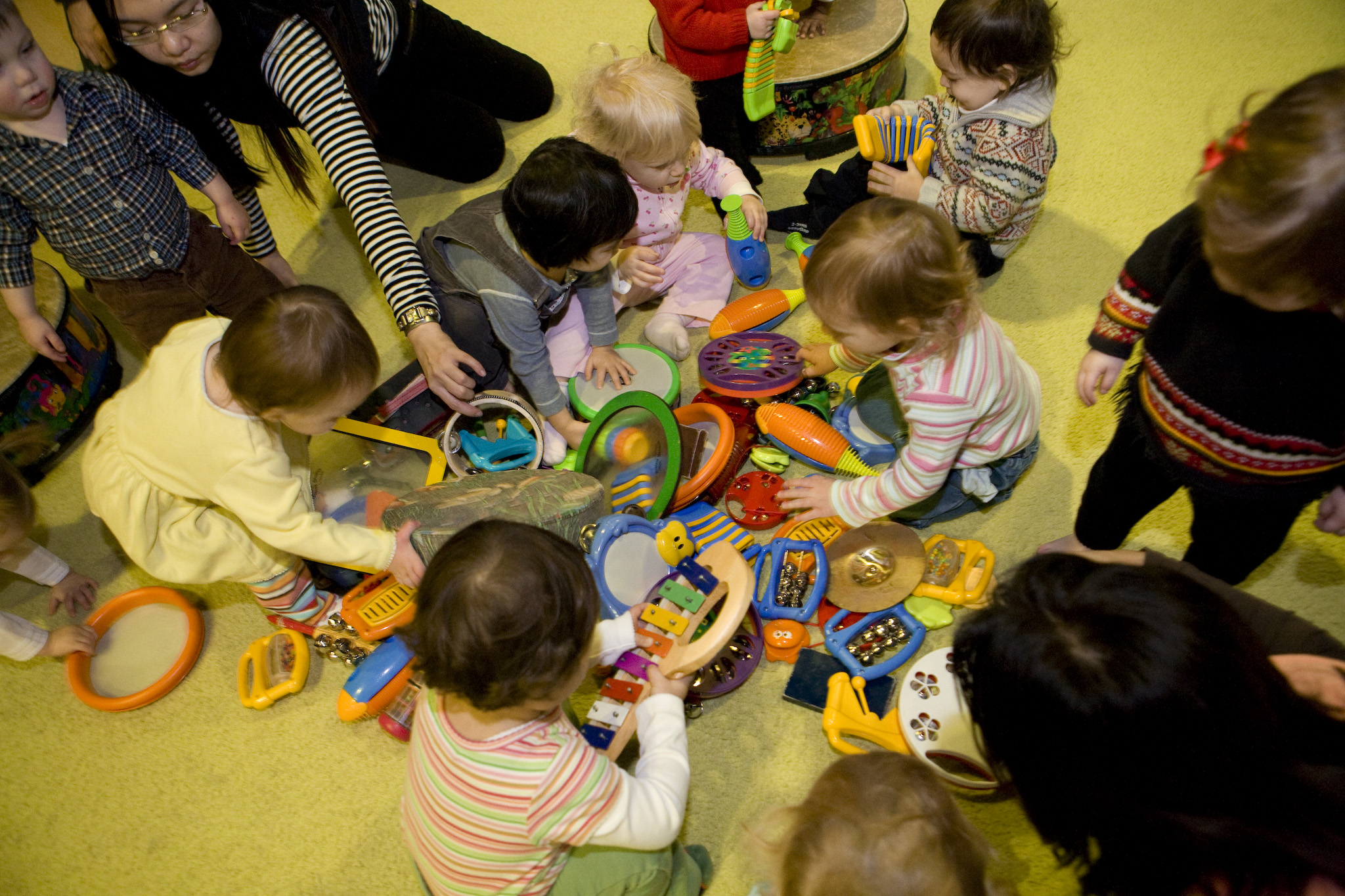 Instrument Play: Tips for using rhythm instruments in class and at home!
