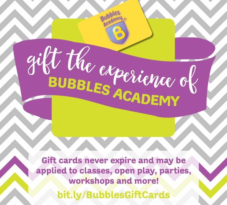 Gift Card Special through Small Business Saturday!