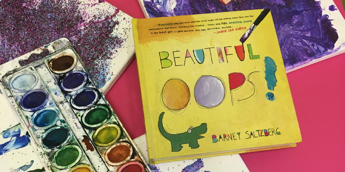 Bubbles Academy Book Rec for Kids: The Beautiful Oops! by Barney Saltzberg