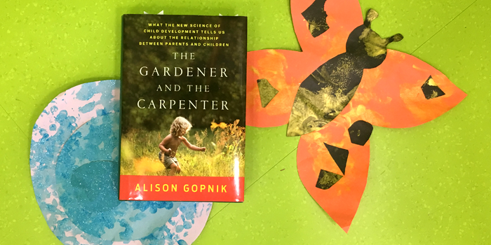 Bubbles Academy Book Rec for Grown-ups: The Gardener and the Carpenter by Alison Gopnik