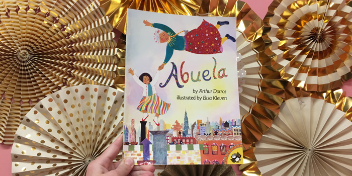 Bubbles Academy Book Recs for Kids: Abuela by Arthur Dorros