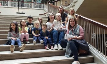 Tips for visiting the museum with your preschooler: Bubbles Academy visits the Art Institute of Chicago!