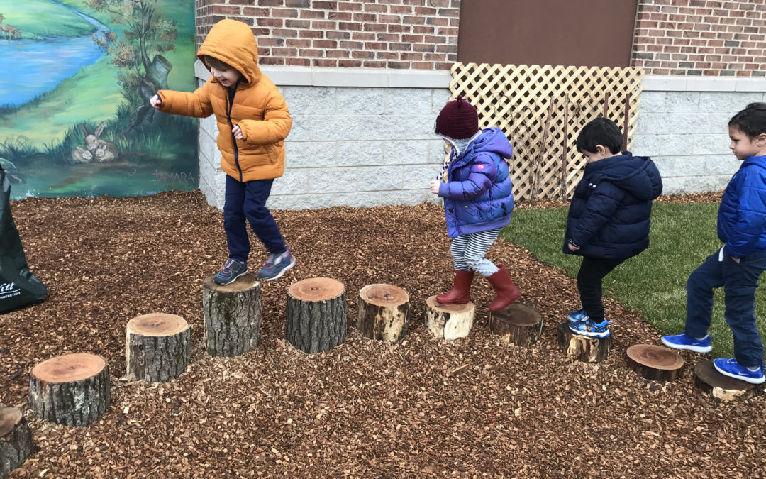 Facilitating Healthy Risk Taking in Outdoor Play