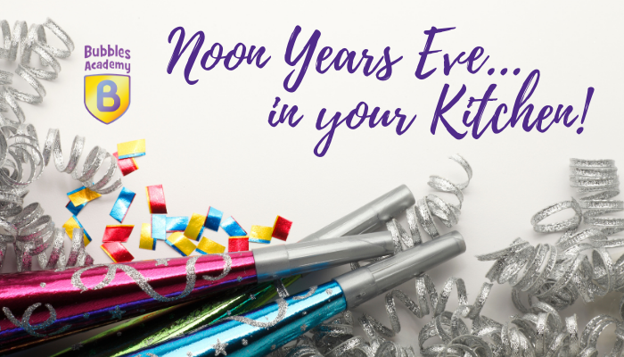 Cooking with Kids – NOON YEAR'S EVE Edition