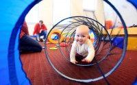 Bubble Music: Babies & Crawlers in Lake Forest!