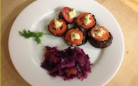 Purple Food: Eggplant and Tomato Bites