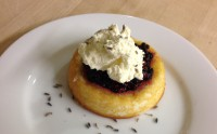 Purple Food: Berry Shortcakes with Lavender