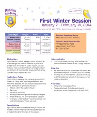 Lake Forest First Winter Session