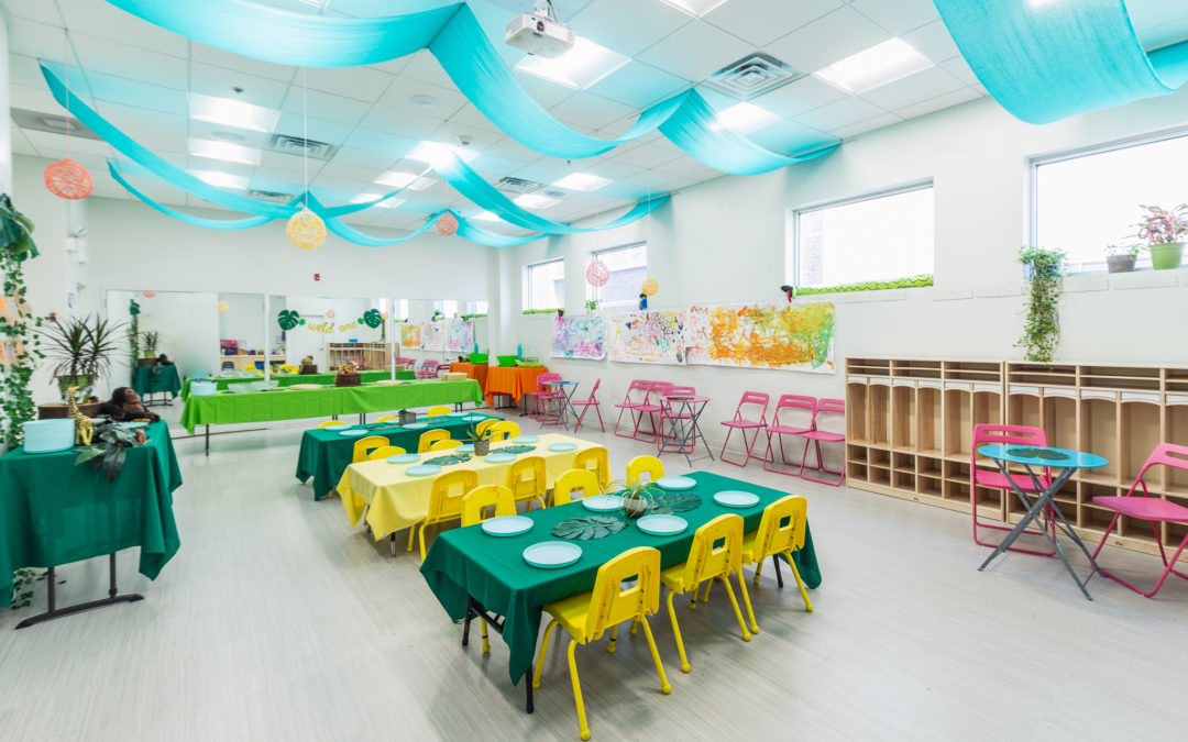 Bubbles Academy Birthday Parties are Going Green!